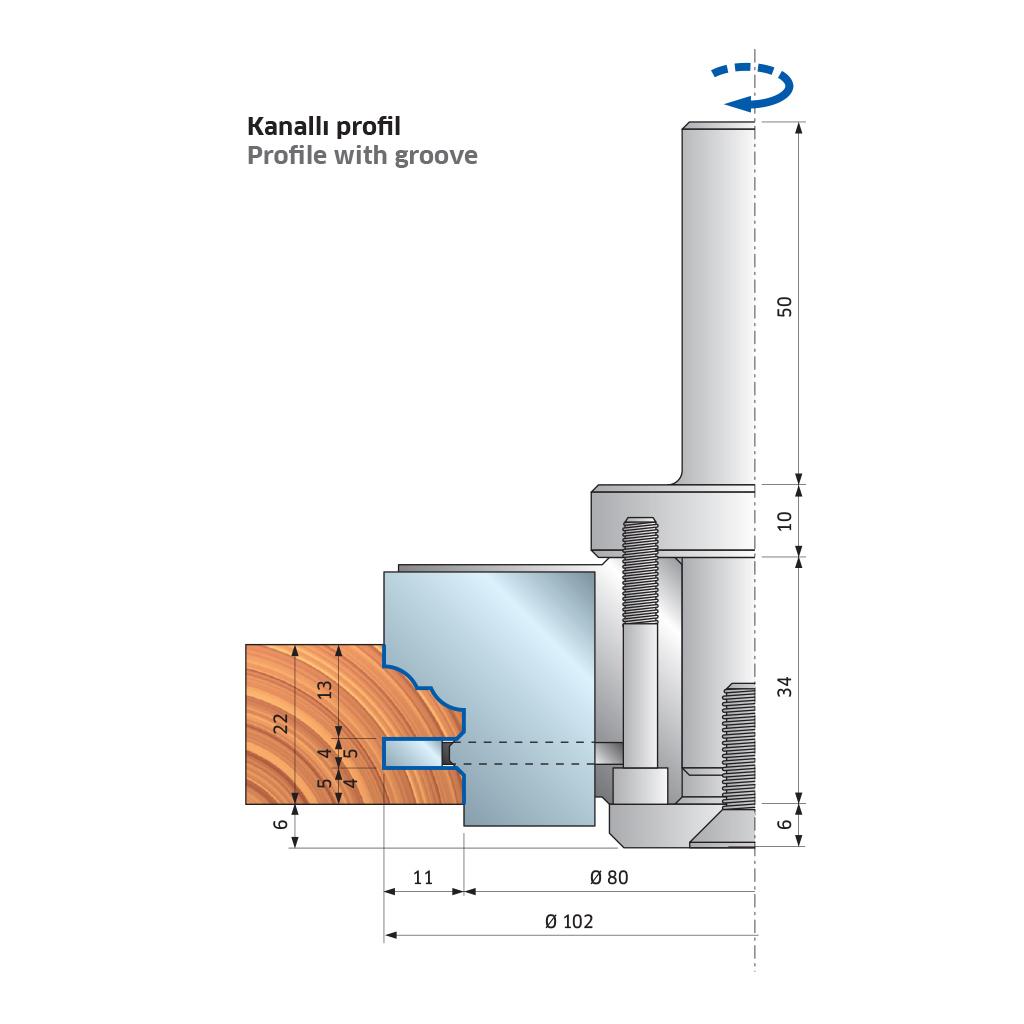 Cnc Cabinet Door Router Cutter Profile Everest